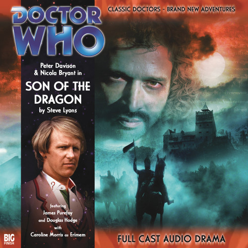 Doctor Who: SON OF THE DRAGON - Big Finish 5th Doctor Audio CD #99