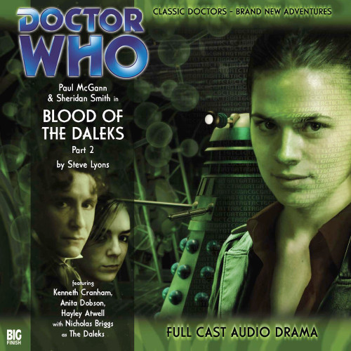 Doctor Who: The Eighth Doctor Adventures #1.2 - BLOOD OF THE DALEKS Part #2 Big Finish Audio CD