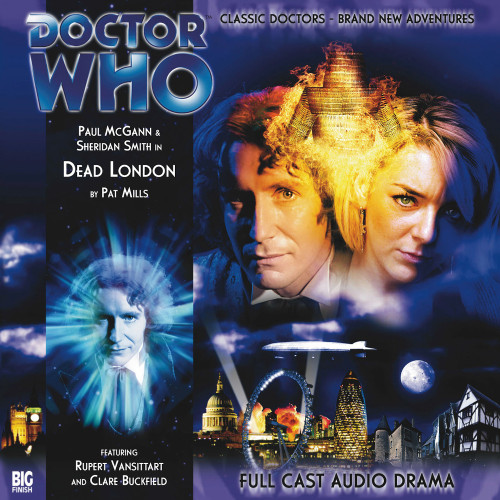 Doctor Who: The Eighth Doctor Adventures #2.1 - DEAD LONDON Big Finish Audio CD