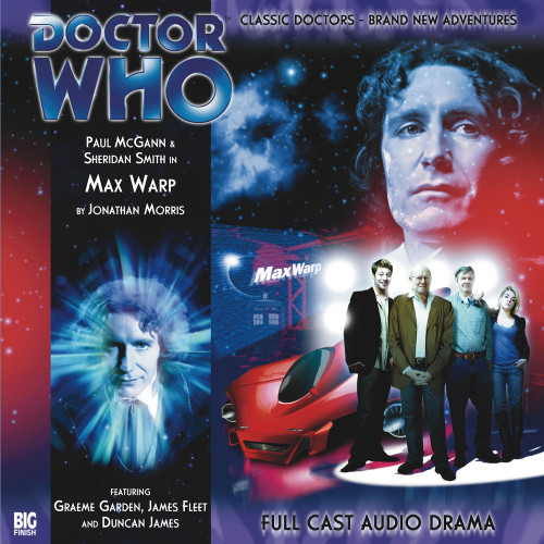 Doctor Who: The Eighth Doctor Adventures #2.2 - MAX WARP Big Finish Audio CD