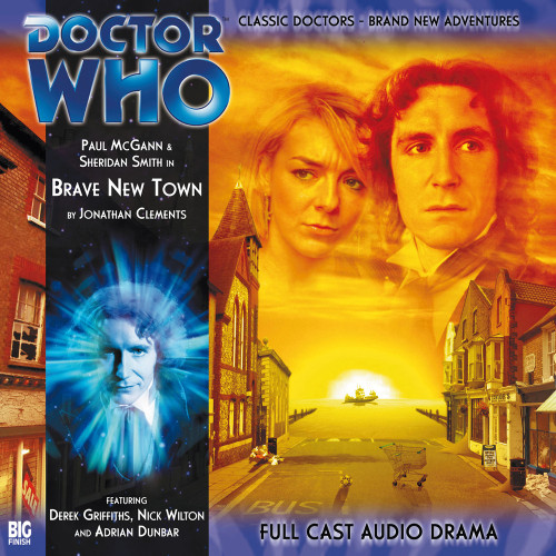 Doctor Who: The Eighth Doctor Adventures #2.3 - BRAVE NEW TOWN Big Finish Audio CD