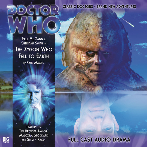 Doctor Who: The Eighth Doctor Adventures #2.6 - THE ZYGON WHO FELL TO EARTH Big Finish Audio CD