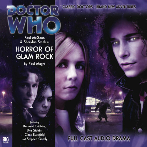 Doctor Who: The Eighth Doctor Adventures #1.3 - HORROR OF GLAM ROCK Big Finish Audio CD