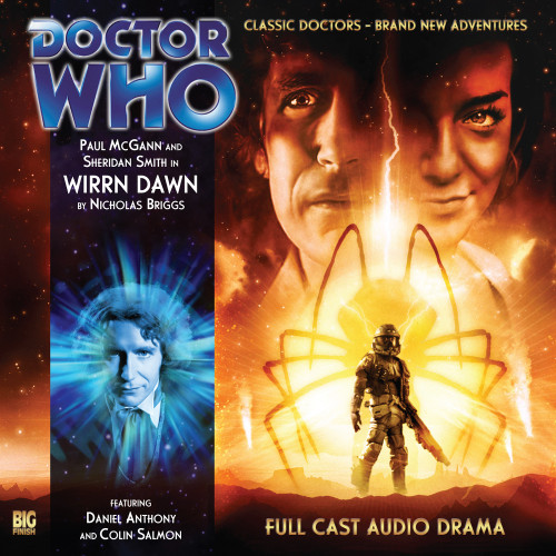 Doctor Who: The Eighth Doctor Adventures #3.4 - WIRRN DAWN Big Finish Audio CD