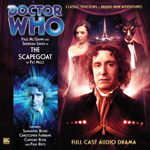 Doctor Who: The Eighth Doctor Adventures #3.5 - THE SCAPEGOAT - Big Finish Audio CD