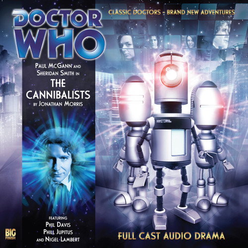 Doctor Who: The Eighth Doctor Adventures #3.6 - THE CANNIBALISTS Big Finish Audio CD