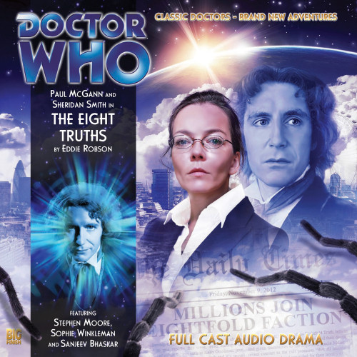 Doctor Who: The Eighth Doctor Adventures #3.7 - THE EIGHT TRUTHS Big Finish Audio CD
