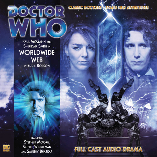 Doctor Who: The Eighth Doctor Adventures #3.8 - WORLDWIDE WEB Big Finish Audio CD