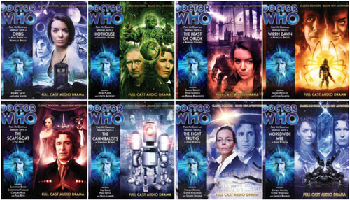 Doctor Who: Complete set of 8 Eighth Doctor Adventures Big Finish Audio CDs - SEASON 3