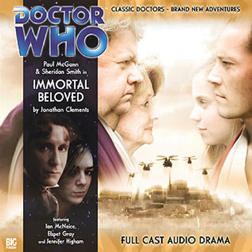 Doctor Who: The Eighth Doctor Adventures #1.4 - IMMORTAL BELOVED Big Finish Audio CD