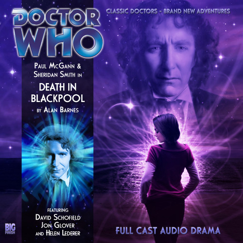 Doctor Who: The Eighth Doctor Adventures #4.1 - DEATH IN BLACKPOOL Big Finish Audio CD