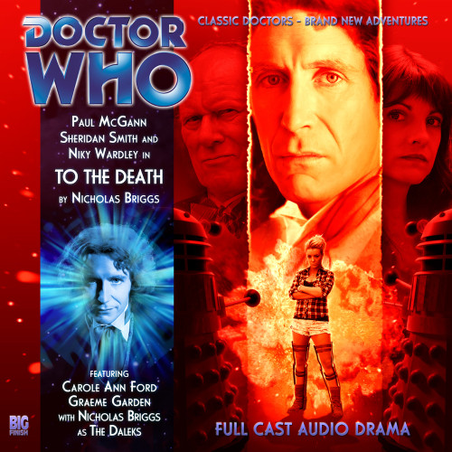 Doctor Who:The Eighth Doctor Adventures #4.10 - TO THE DEATH Big Finish Audio CD