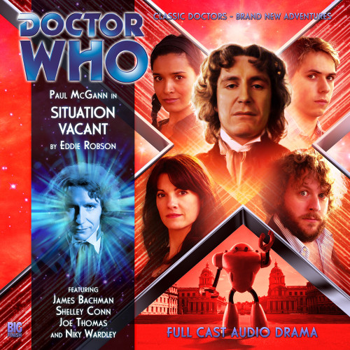 Doctor Who: The Eighth Doctor Adventures #4.2 - SITUATION VACANT - Big Finish Audio CD