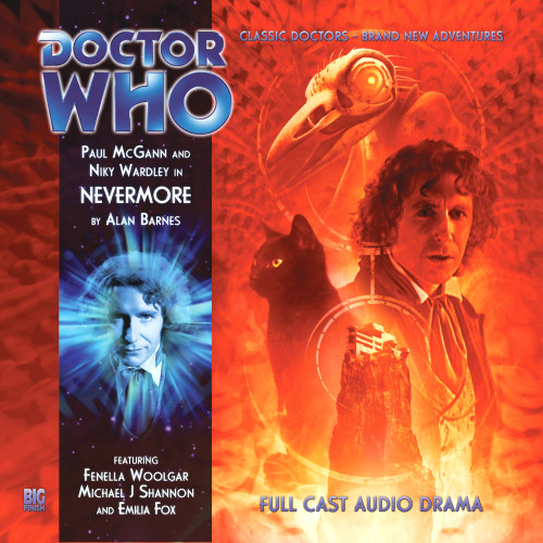 Doctor Who: The Eighth Doctor Adventures #4.3 - NEVERMORE Big Finish Audio CD