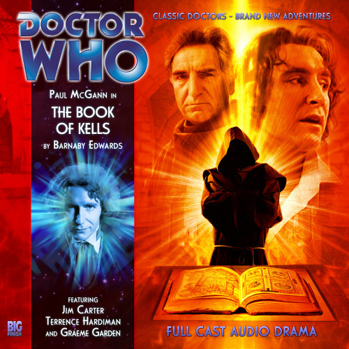 Doctor Who: The Eighth Doctor Adventures #4.4 - THE BOOK OF KELLS Big Finish Audio CD