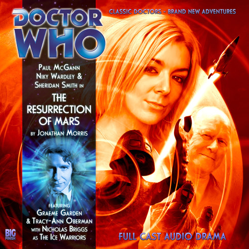 Doctor Who: The Eighth Doctor Adventures #4.6 - THE RESURRECTION OF MARS Big Finish Audio CD
