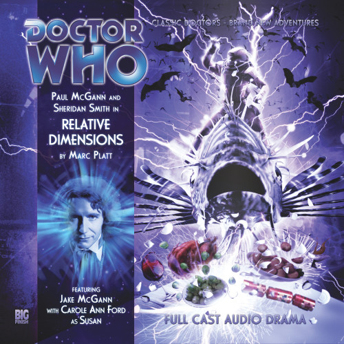 Doctor Who: The Eighth Doctor Adventures #4.7 - RELATIVE DIMENSIONS - Big Finish Audio CD
