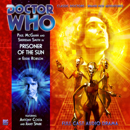 Doctor Who: The Eighth Doctor Adventures #4.8 - PRISONER OF THE SUN Big Finish Audio CD