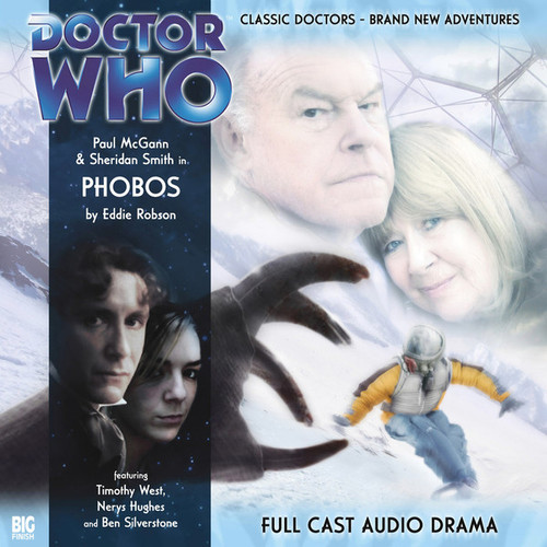 Doctor Who: The Eighth Doctor Adventures #1.5 - PHOBOS Big Finish Audio CD
