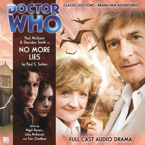 Doctor Who: The Eighth Doctor Adventures #1.6 - NO MORE LIES Big Finish Audio CD