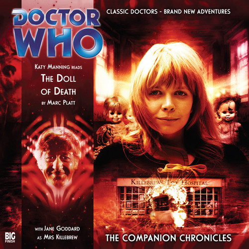 Doctor Who Companion Chronicles - THE DOLL OF DEATH - Big Finish Audio CD #3.3