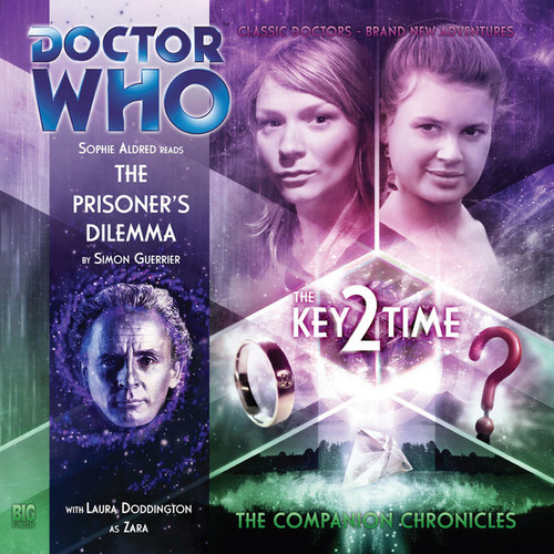 Doctor Who Companion Chronicles - KEY 2 TIME - THE PRISONER'S DILEMMA - Big Finish Audio CD #3.8