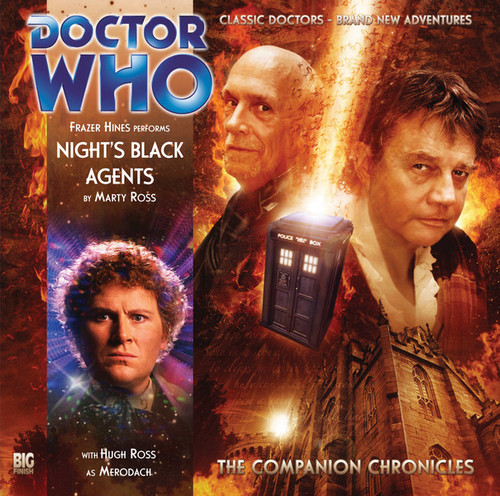 Doctor Who Companion Chronicles - NIGHT'S BLACK AGENTS - Big Finish Audio CD #4.11