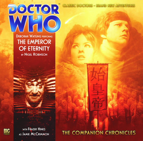 Companion Chronicles - The Emperor of Eternity - Big Finish Audio CD 4.8