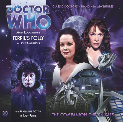 Doctor Who Companion Chronicles - FERRIL'S FOLLY - Big Finish Audio CD #5.11