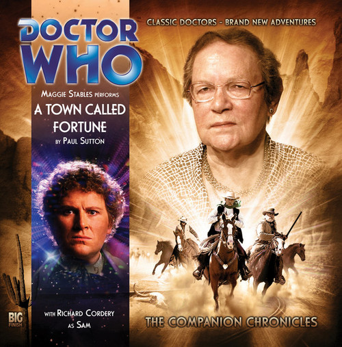 Doctor Who Companion Chronicles - A TOWN CALLED FORTUNE - Big Finish Audio CD #5.5