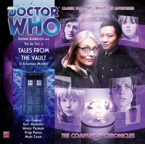 Doctor Who Companion Chronicles - TALES FROM THE VAULT - Big Finish Audio CD #6.1