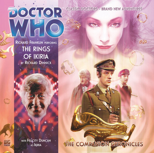 Doctor Who Companion Chronicles - THE RINGS OF IKIRIA - Big Finish Audio CD #6.12