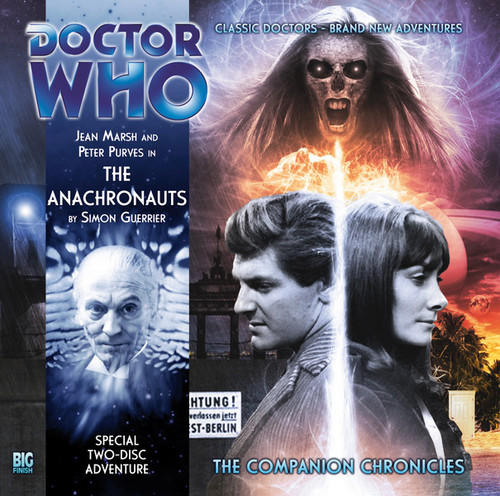 Doctor Who Companion Chronicles - THE ANACHRONAUTS - Big Finish Audio CD (2 Discs) #6.7
