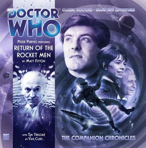 Companion Chronicles - Return of the Rocket Men - Big Finish Audio CD 7.5