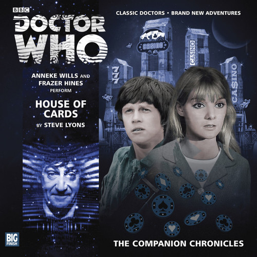 Doctor Who Companion Chronicles - HOUSE OF CARDS - Big Finish Audio CD #7.8