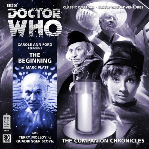 Companion Chronicles - The Beginning - Big Finish Audio CD 8.5