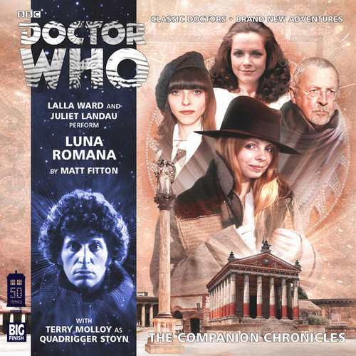 Doctor Who Companion Chronicles - LUNA ROMANA - Big Finish Audio CD #8.7