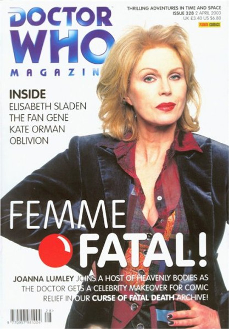 Doctor Who Magazine #328 - Joanna Lumley in Curse of Fatal Death