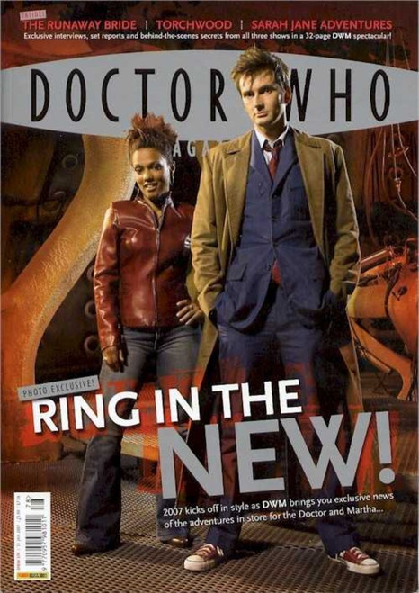 Doctor Who Magazine #378