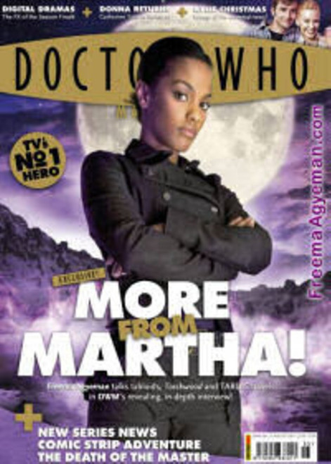 Doctor Who Magazine #385 - Martha Jones - Freema Agyeman Interview