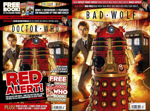 Doctor Who Magazine #397 Plus a FREE vintage TARGET Book
