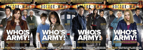 Doctor Who Magazine #398 Four Alternative Covers