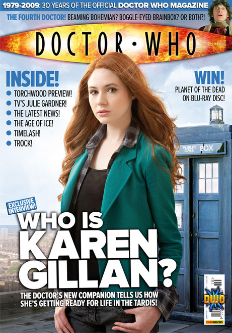 Doctor Who Magazine #410 - First Karen Gillan interview and cover
