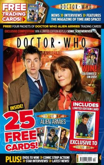 Doctor Who Magazine #414 Includes 25 FREE Cards (Poly Bagged Issue)