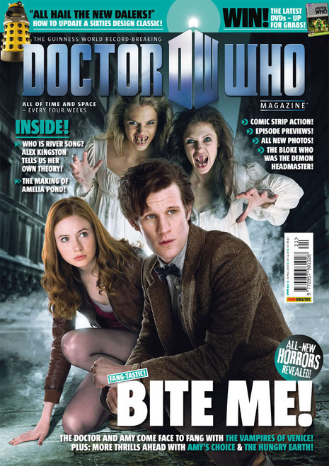 Doctor Who Magazine #421