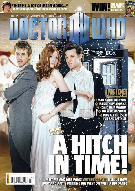 Doctor Who Magazine #424