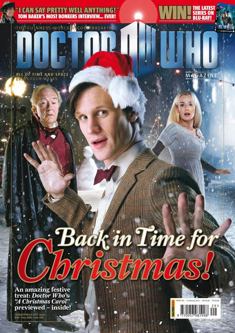 Doctor Who Magazine #429 - A Christmas Carol Special Issue (FREE Collector Cards Inside)