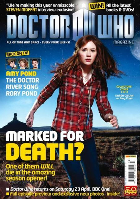 Doctor Who Magazine #433 Four Alternative Covers to Choose from...