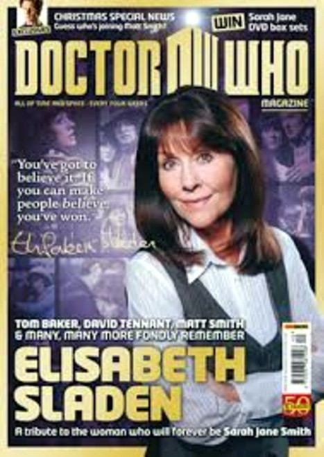 Doctor Who Magazine #440 - Elisabeth Sladen Tribute Issue
