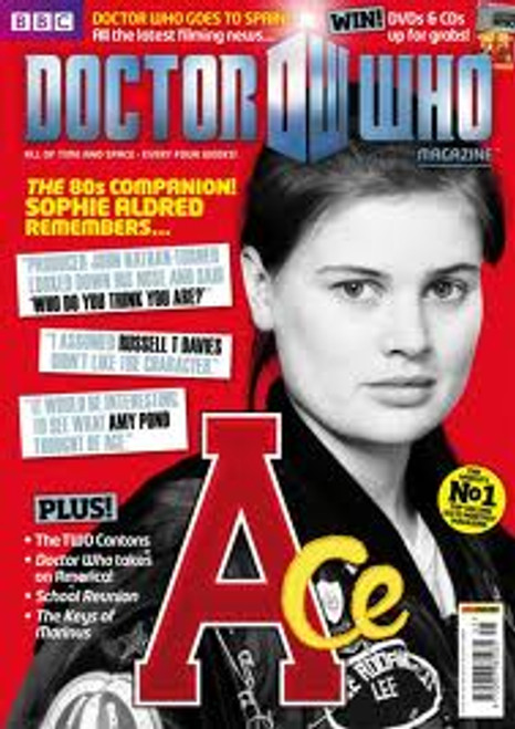 Doctor Who Magazine #445 - Sophie Aldred interview and cover